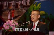 Le diplomate vietnamien donne un exposé sur la politique extérieure du Vietnam au Cambodge