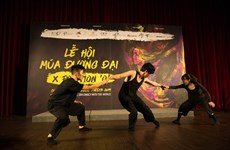 Le 10e festival de danse contemporaine internationale XPosition O au Vietnam