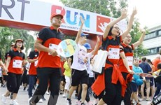 Près de 8.000 participants à la course caritative Fun Run