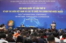 La 4e conférence internationale sur la coopération entre le Vietnam et les ONG étrangères