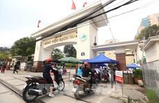 COVID-19: L'hôpital Bach Mai appelé à respecter scrupuleusement les mesures de prévention