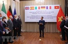 Coronavirus: la presse allemande apprécie l'assistance du Vietnam à des pays européens