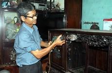 Le plus jeune menuisier du pays raconte la construction du mausolée de l'Oncle Hô