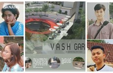 Des étudiants de Da Nang terminent finalistes du concours d'architecture de Hong Kong