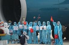 37 heures sur le vol amenant des citoyens vietnamiens de Guinée équatoriale au pays