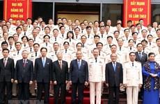 Ouverture du 7e congrès du Comité central du Parti communiste du Vietnam pour la Police