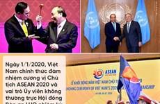 2020: une année de succès pour la diplomatie vietnamienne