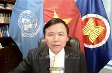 ONU : Vietnam appelle à une protection accrue des enfants face aux conflits armés