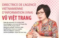 Nouvelle directrice générale de l'Agence vietnamienne d'information