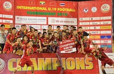 Le Vietnam, champion du tournoi international de football U19