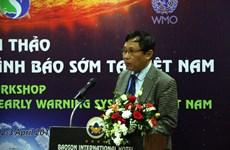L'établissement du système d'alerte précoce en débat à Hanoi