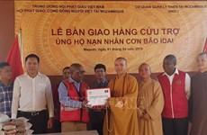L'Eglise bouddhique du Vietnam soutient les Mozambicains touchés par le cyclone Idai