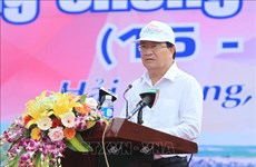 Lancement de la Semaine nationale de la prévention des catastrophes à Hai Phong