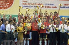 Un club chinois sacré champion du 13e tournoi international de volley-ball féminin Coupe VTV9