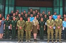 Coopération millitaire Vietnam – Australie pour le maintien de la paix