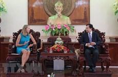 Les Etats-Unis envisagent une coopération multiforme avec Cân Tho