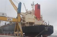 Près de 309 millions de tonnes de marchandises transportées via les ports maritimes