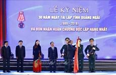 Le Premier ministre : Quang Ngai peut devenir un centre industriel du Centre