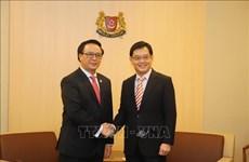 Singapour réaffirme la promotion des liens économiques avec le Vietnam