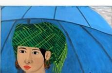 Une peinture d'une artiste malentendante vietnamienne exposée en Italie