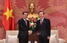 Une délégation parlementaire du Laos en visite de travail au Vietnam