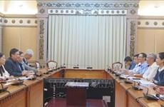 Hô Chi Minh-Ville appelle Singapour à investir dans les infrastructures et l'environnement