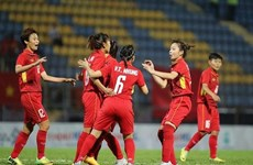 Le Vietnam en la finale du Championnat féminin de l'AFF