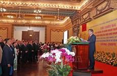 Hô Chi Minh-Ville donne une réception en l'honneur de la Fête nationale