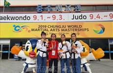 Le taekwondo vietnamien remporte la première médaille d'or au Festival mondial des arts martiaux