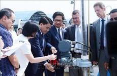 Inauguration d'une usine exploitant les eaux de surface du fleuve Duông