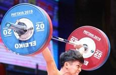 Un Vietnamien rafle l'argent au Championnaux du monde d'haltérophilie 2019