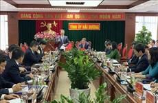 Hai Duong appelée à développer des infrastructures des TI modernes