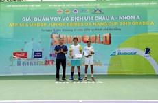 Championnats de tennis U14 d'Asie : Le Vietnam champion en simple hommes