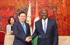 Renforcement de la coopération entre le Vietnam et la Côte d'Ivoire