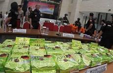 L'Indonésie démantèle un important réseau de trafic de drogue