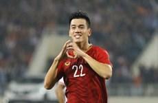 Championnat U23 de l'Asie 2020 en Thaïlande : L'AFC apprécie l'attaquant Nguyên Tiên Linh