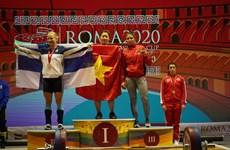 Coupe du monde d'haltérophilie: dix médailles d'or pour le Vietnam