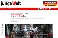 COVID-19: un journal allemand apprécie la lutte précoce et résolue du Vietnam
