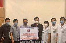 Coronavirus: Petrolimex fait un don de 117.000 dollars à l'hôpital Bach Mai