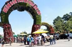Un grand nombre de touristes vers Da Lat durant les jours fériés