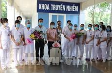 Le 10e cas de COVID-19 traité à Ninh Binh est sorti de l'hôpital