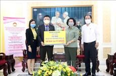 Lutte contre le COVID-19 : Plus de 6,5 millions de dollars mobilisés à Hô Chi Minh-Ville