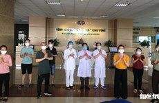 COVID-19 : huit nouveaux patients guéris au Vietnam