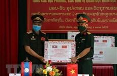 Quang Ngai soutient une province laotienne dans sa lutte contre le COVID-19