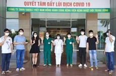 COVID-19: neuf  nouvelles guérisons au Vietnam