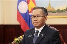 Le Laos salue le rôle de la présidence vietnamienne de l'ASEAN