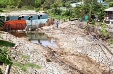 Delta du Mékong : la salinisation a tendance à diminuer mais restera élevée