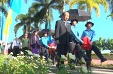 Dông Thap : Inhumation des restes de 52 soldats volontaires vietnamiens tombés au Cambodge