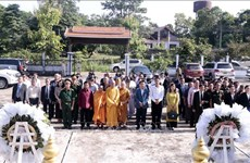 Commémoration des morts pour la Partrie au Laos