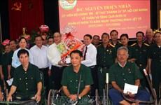 Le secrétaire du Comité du Parti de Hô Chi Minh-Ville rend visite à des invalides à Hà Nam